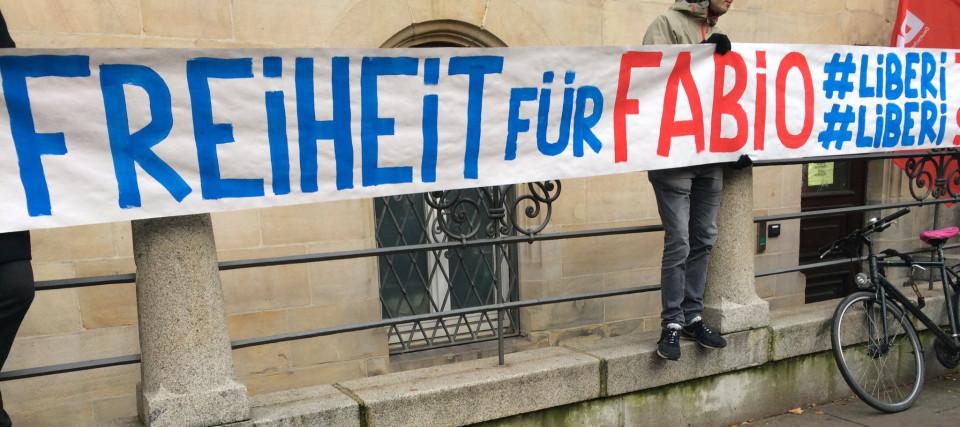Freiheit für Fabio