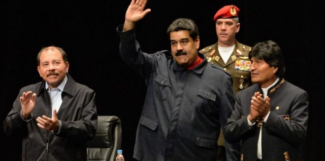 Ortega - Maduro - Morales