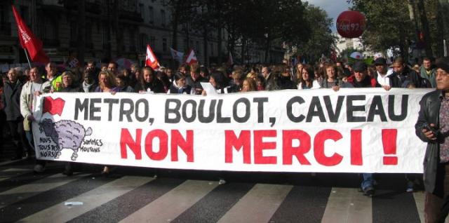 Metro-Boulot-Caveau - non merci!