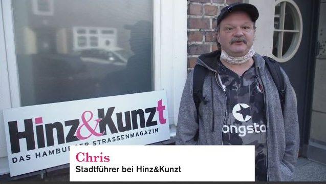Chris Stadtführer von Hinz & Kunzt